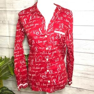 Victoria's Secret | Red Pajama Top